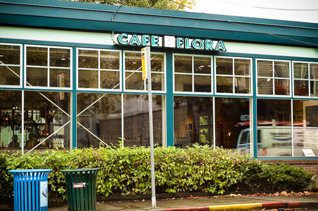Cafe Flora, Seattle, Washington