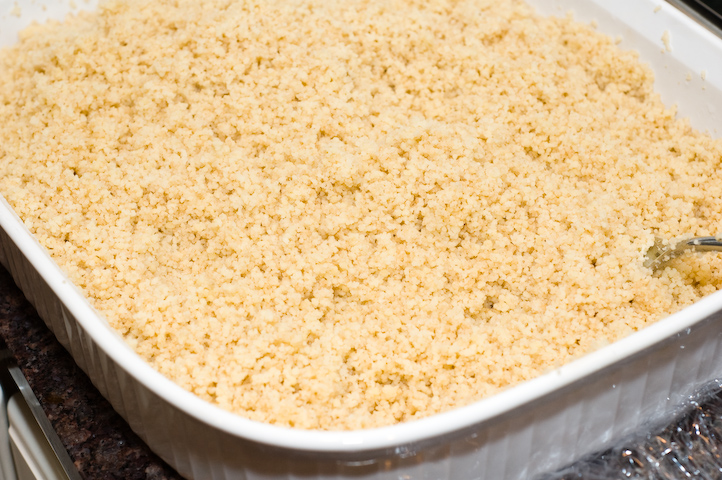 Fluffy Couscous - just steam it in a casserole instead of a pot