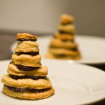 Recipe: Pie Dough and Ganache Cookie Towers