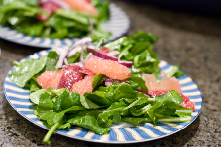 Citrus Salad with Sherry Vinaigrette