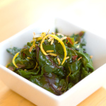 Recipe: Beet Greens with Pumpkin Seed Oil and Cherry Vinegar