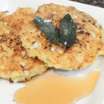 Recipe: Risotto Cakes With Sherry Gastrique – Vegetarian
