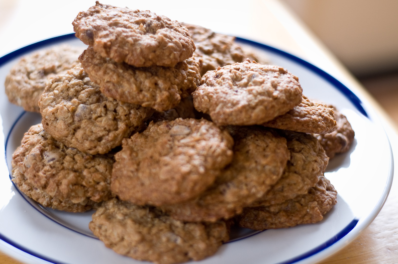 Recipe: Chewy Oatmeal-Chocolate Chip Cookies | Herbivoracious ...