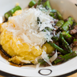 Recipe: Polenta With Asparagus And Olives
