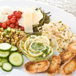 Summer Vegetarian Antipasto From Leftovers, Odds & Ends