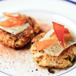 Paella Cakes with Manchego and Candied Seville Orange Peel – Recipe