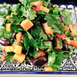 Persimmon, Parsley and Olive Salad – Recipe