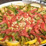 New Paella Pan from The Spanish Table