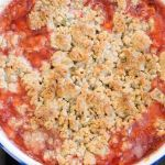 Strawberry Rhubarb Crisp with a Pumpkin Seed Topping – Recipe
