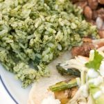 Arroz Verde – Mexican Green Herb Rice Rethought – Recipe