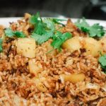 Red Curry Fried Rice with Seared Pineapple – Recipe