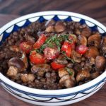 Spanish Lentils and Mushrooms – Recipe