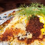 Persian Crispy Rice – Chelo with Tahdig – Recipe
