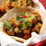 Grilled Tofu and Pepper Vegetarian Tacos – Recipe