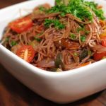 Peppery Red Wine Capellini – Cooked By The Absorption Method – Recipe