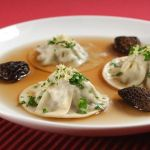 Shiitake and Morel Ravioli in Brodo with Gremolata – Recipe