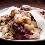 Pan-Fried Gnocchi with Radicchio, Leeks and Ricotta Salata – Vegetarian Recipe