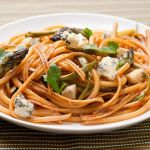 Bucatini with Smoked Asparagus and Gorgonzola – Recipe