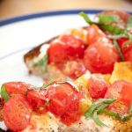 Lightly Cooked Cherry Tomato and Ricotta Bruschetta – Recipe