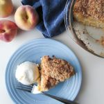 Peach and Sour Cream Buckle – Recipe