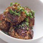 Pomegranate-glazed Freekeh Kofte – Recipe