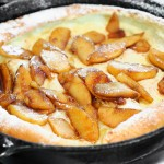 Dutch Baby With Sauteed Apples – My First Video Recipe