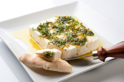 Quick Marinated Feta