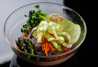 Bibim Naengmyeon (Cold Korean Noodles)