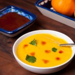 Red Lentil and Kabocha Squash Soup with Harissa Oil – Sneak Peek Recipe From The Cookbook