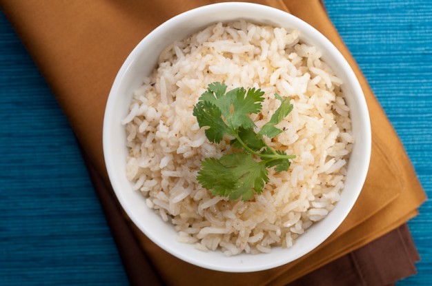 Ginger and Black Pepper Basmati Rice