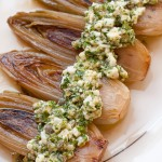 Braised Belgian Endive with Sauce Gribiche