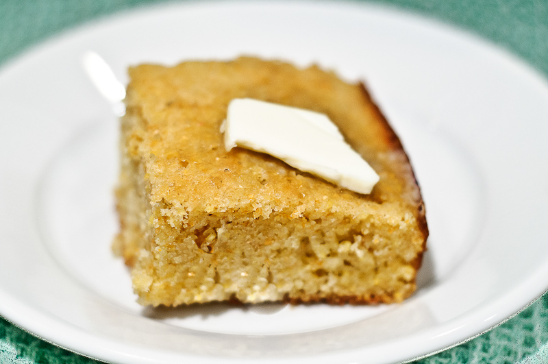 Brown Butter Cornbread, page 273