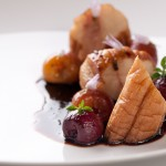 King Oyster Mushroom with Roasted Cherries and Sage – No, That Isn't Meat – Thought Process