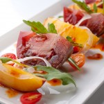 Tomato and Nectarine Salad with a Korean Dressing – Recipe