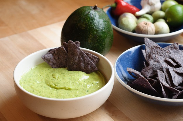 Avocado and Tomatillo Salsa - Recipe | Herbivoracious - Vegetarian ...