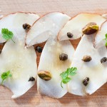 Porcini (Cèpes) Mushroom Crudo With Clementine Oil – Recipe
