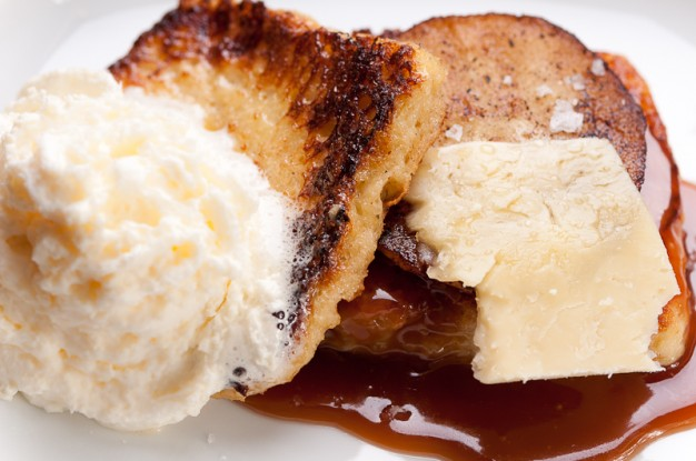 Caramel apple brioche french toast dessert recipe for Easy french dessert recipes