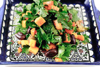 Parsley_Persimmon_Olive_Salad