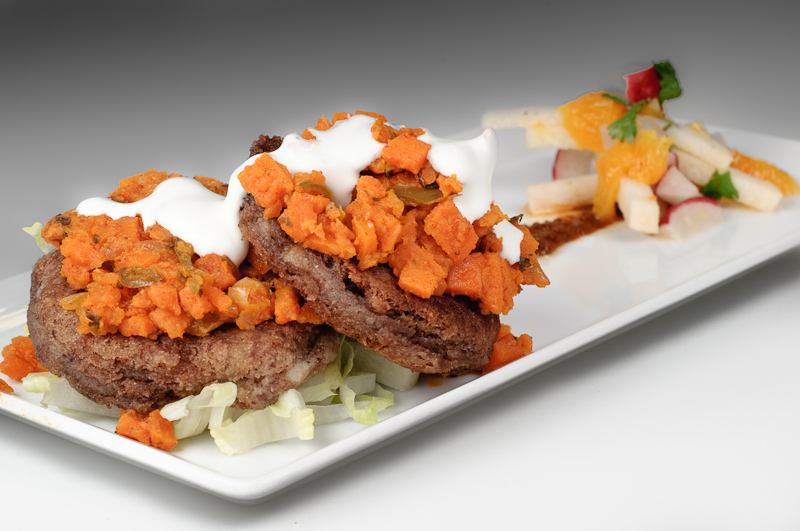 Bocoles (Masa and Black Bean Cakes) with Spicy Yams – Recipe ...