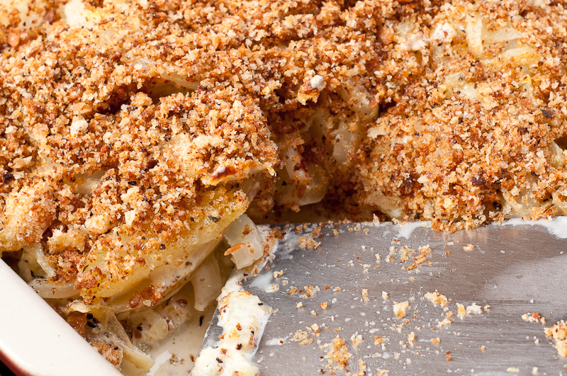 Potato and Fennel Gratin
