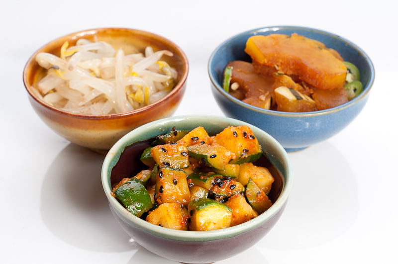 Three Easy Banchan