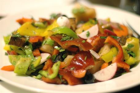 Panzanella Salad at Spaghettim