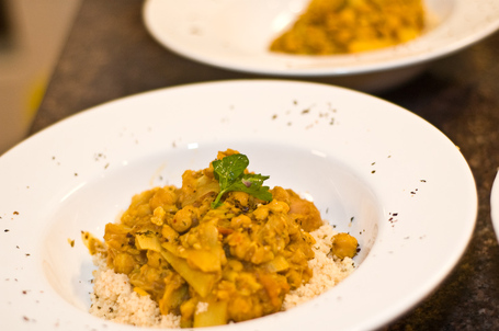 Spicy Chickpea Stew Over CouscousSpicy Chickpea Stew Over Couscous