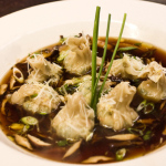 Winter Green Dumplings in Shiitake Broth – Now Live At Cafe Flora