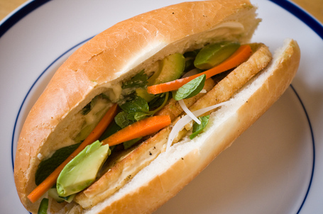 Vietnamese Sandwiches with Tofu (Banh Mi Chay)