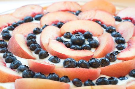 Nectarineblueberrytart1