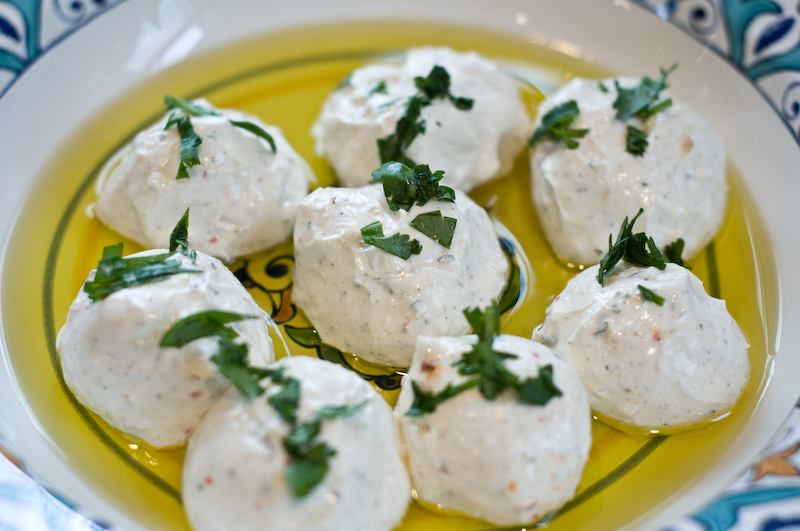 Recipe syrian style labneh spiced yogurt cheese vegetarian syrian style labneh spiced yogurt cheese forumfinder