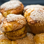 Recipe: Sesame Corn Muffins