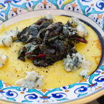 Polenta With Sauteed Chard and Gorgonzola