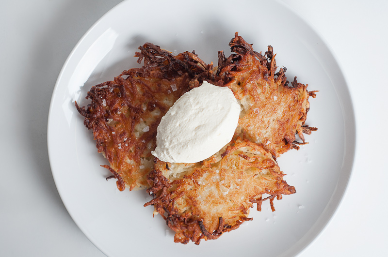 How to make crispy delicious latkes jewish potato pancakes now forumfinder Gallery